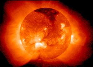 Słońce jest naturalnym reaktorem termojądrowym.