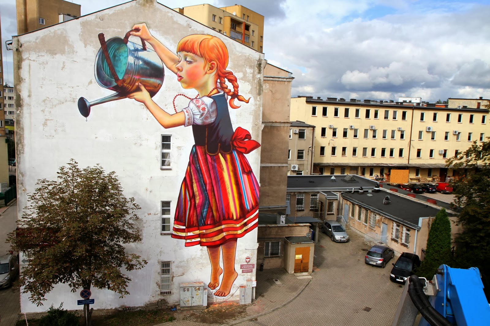 Katarzyna micha owska pierwszy ranking polskich murali for 3d street painting mural art