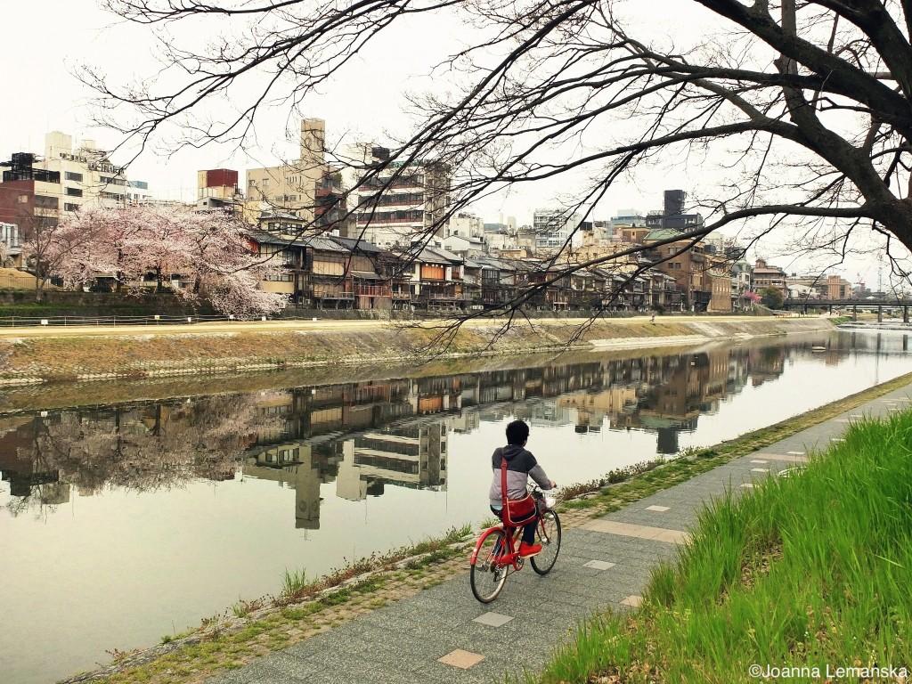 Kyoto biker