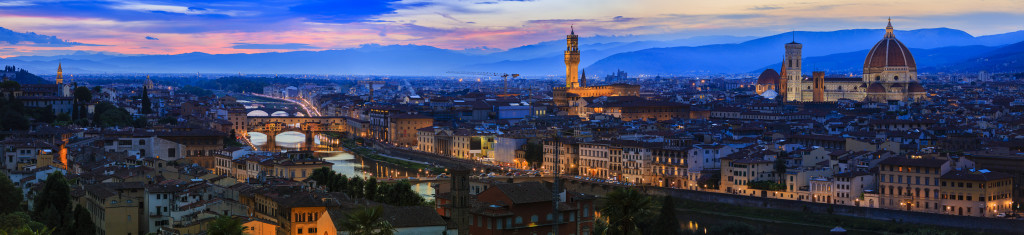 Florence, Italy - view of the city, panorama