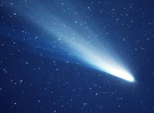 Kometa Halleya sfotografowana w 1986 r. (Zdj. NASA)