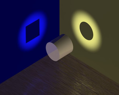 Cylinder Shadow - Circle and Rectangle