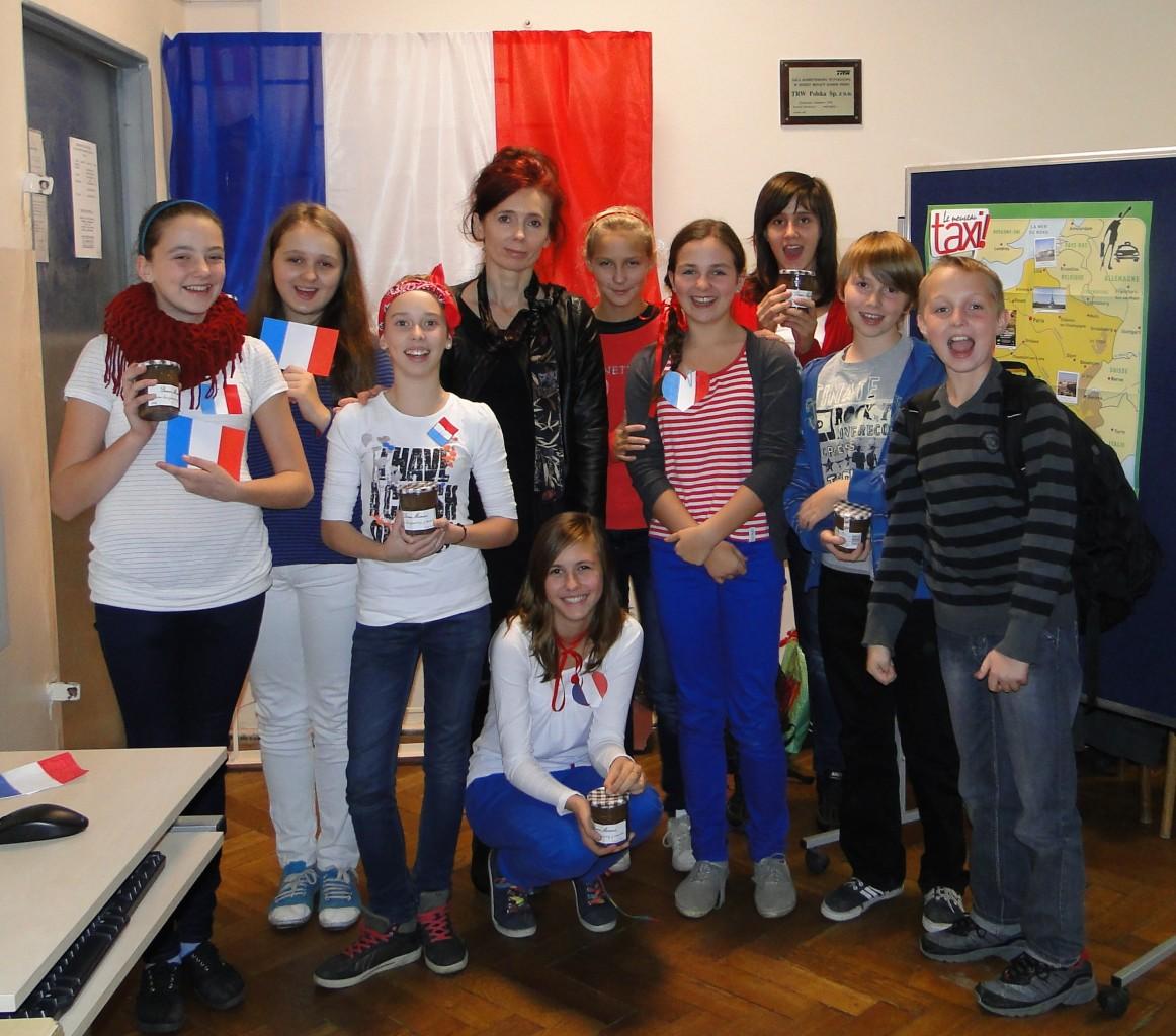 Lekcja instruktażowa jęz. francuskiego w szkole podstawowej ramach projektu www.mowimypofrancusku.pl