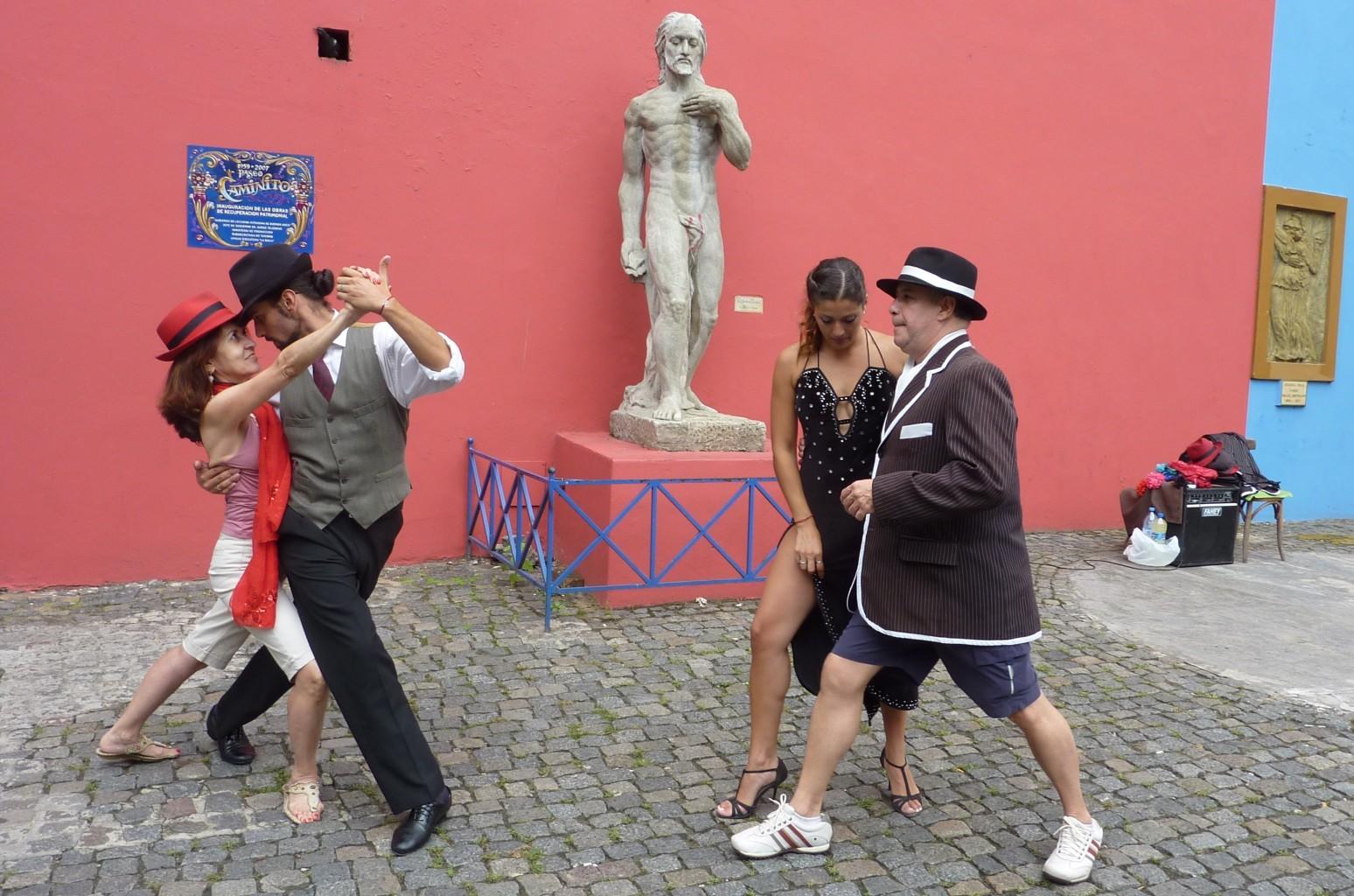Tango w Boca