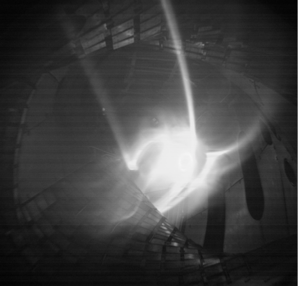 Pierwsze wyładowanie w stellaratorze Wendelstein 7-X Zdj. Wigner RCP/IPP