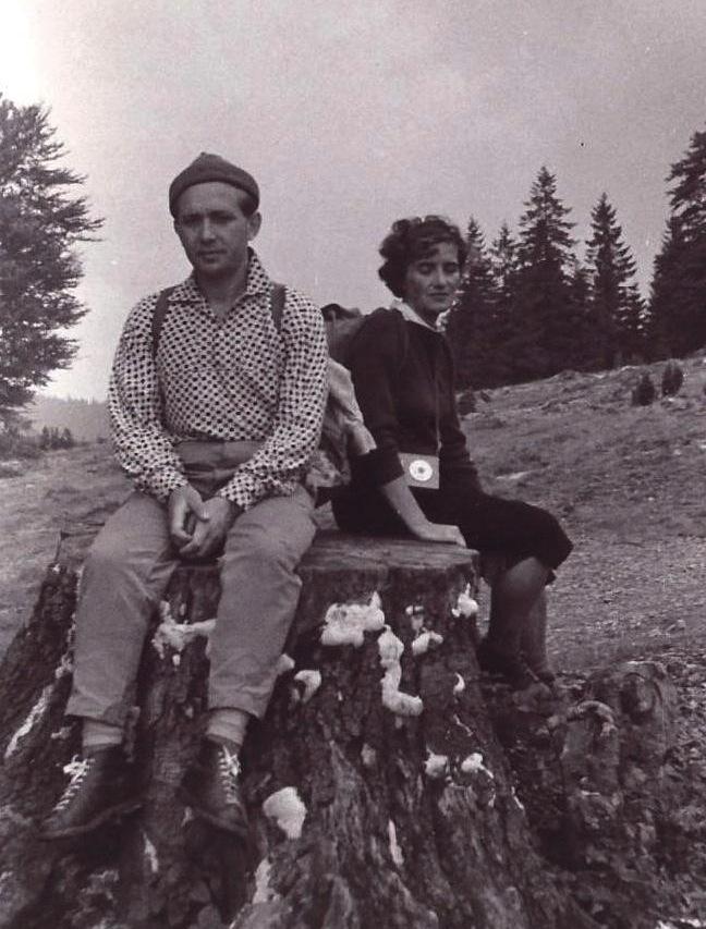 Irena i Antoni Żychiewicz w ukochanych Tatrach.