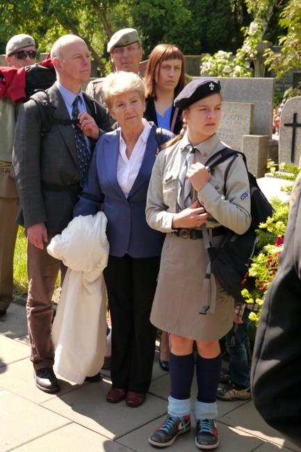 Marta Święcicka, córka Antoniego Żychiewicza, z wnuczką Julią na Zjeździe Cichociemnych i ich rodzin w 2014 roku