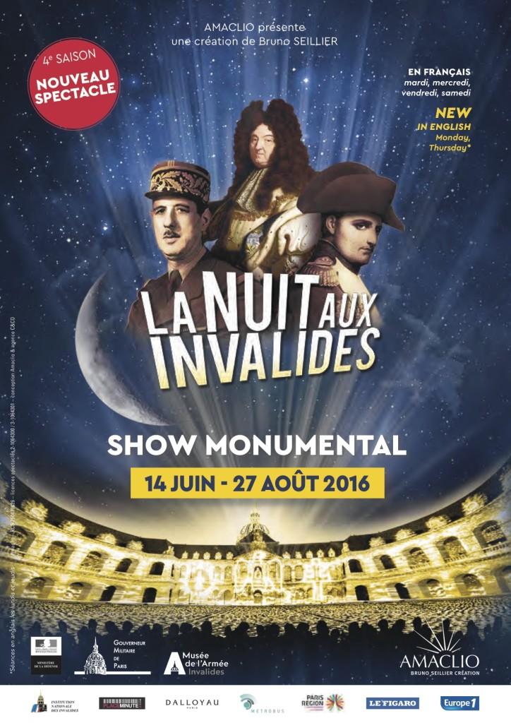 La Nuit aux Invalides plakat