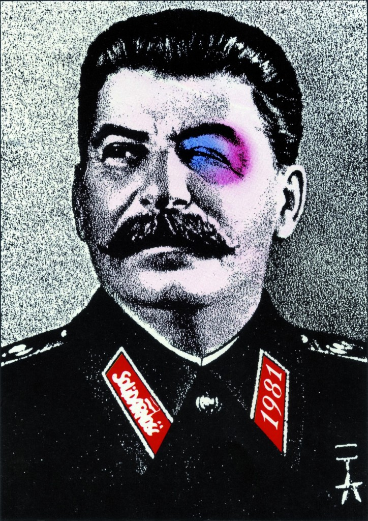 stalin plakat polityczny