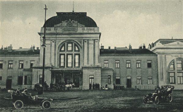 Dworzec w Tarnowie (archiwum rodzinne)