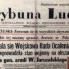 Małgorzata WANKE-JAKUBOWSKA, Maria WANKE-JERIE: Wyrok na SIERPIEŃ