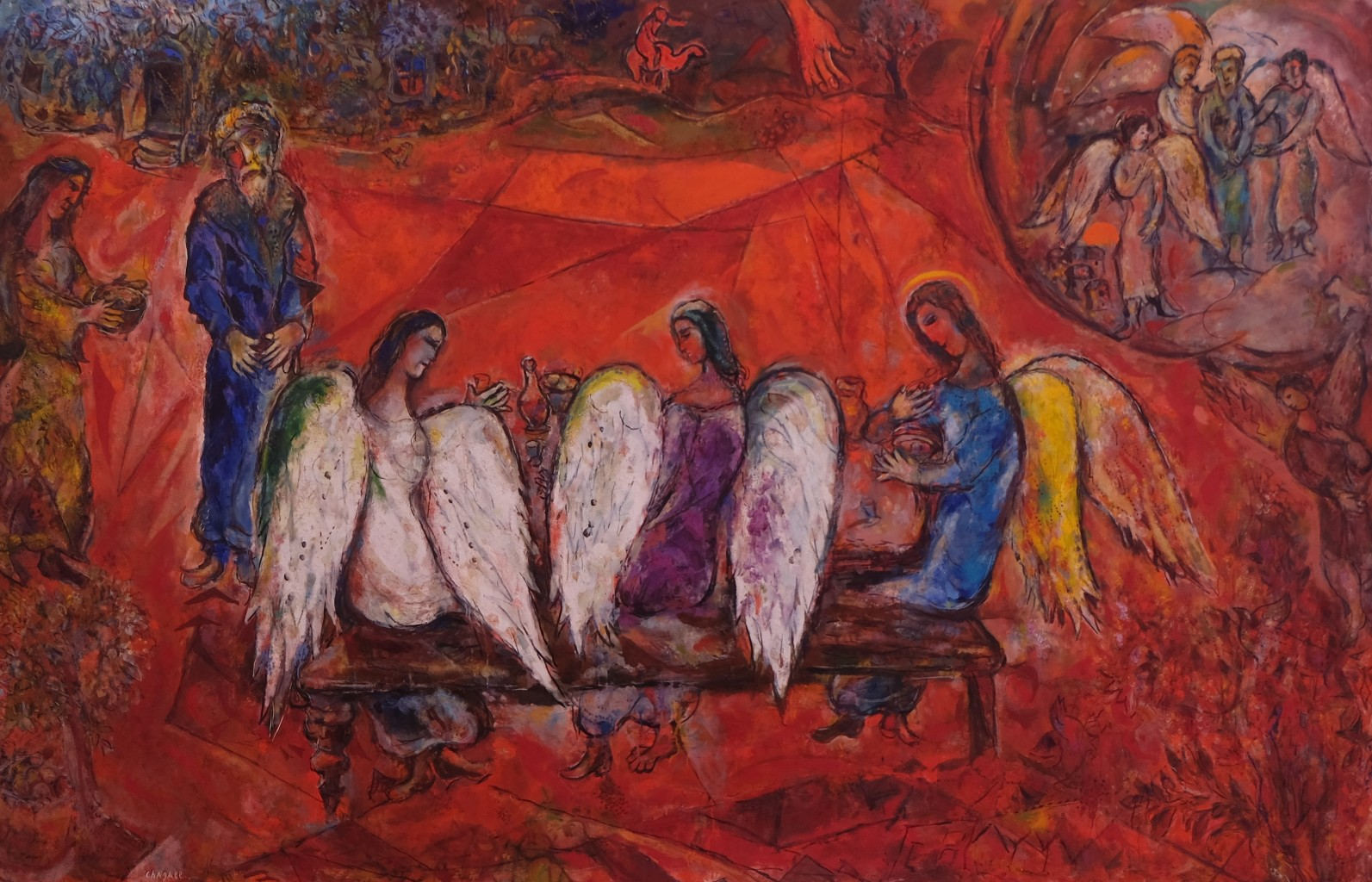 Abraham et les trois anges, 1960-1966