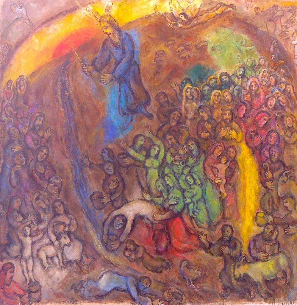Le Frappement du rocher, 1960-1966