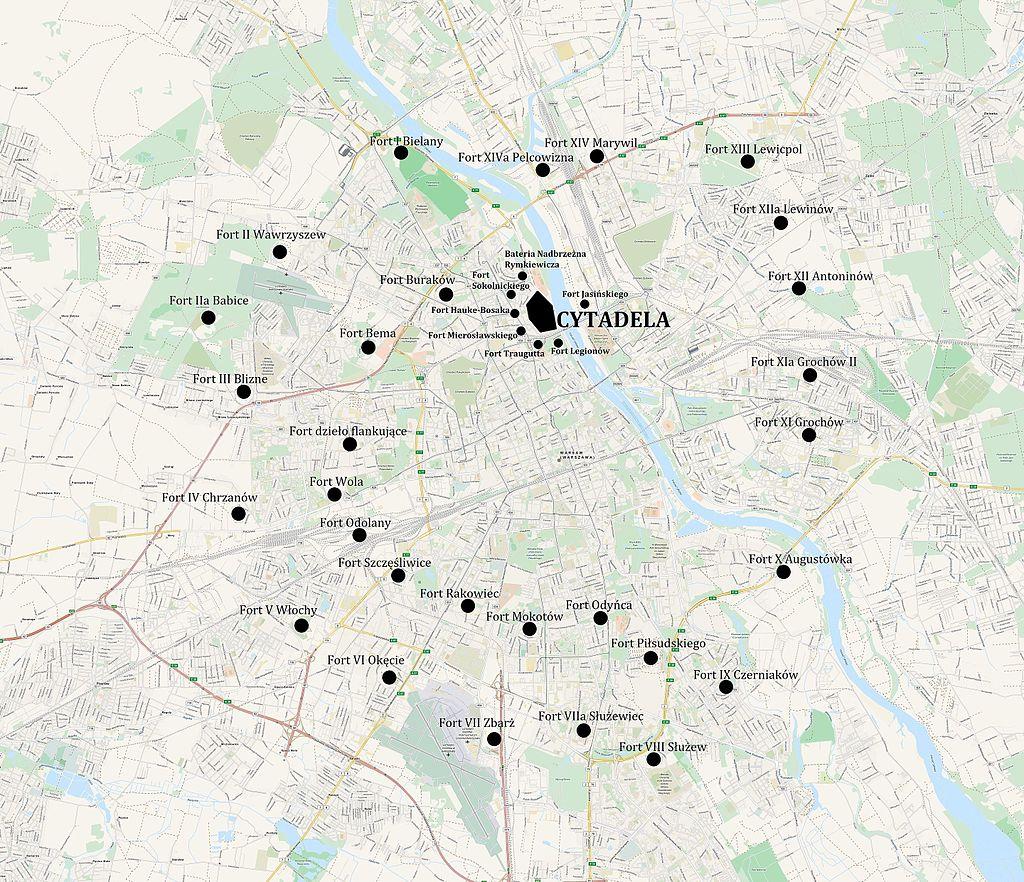 Forty Twierdzy Warszawa