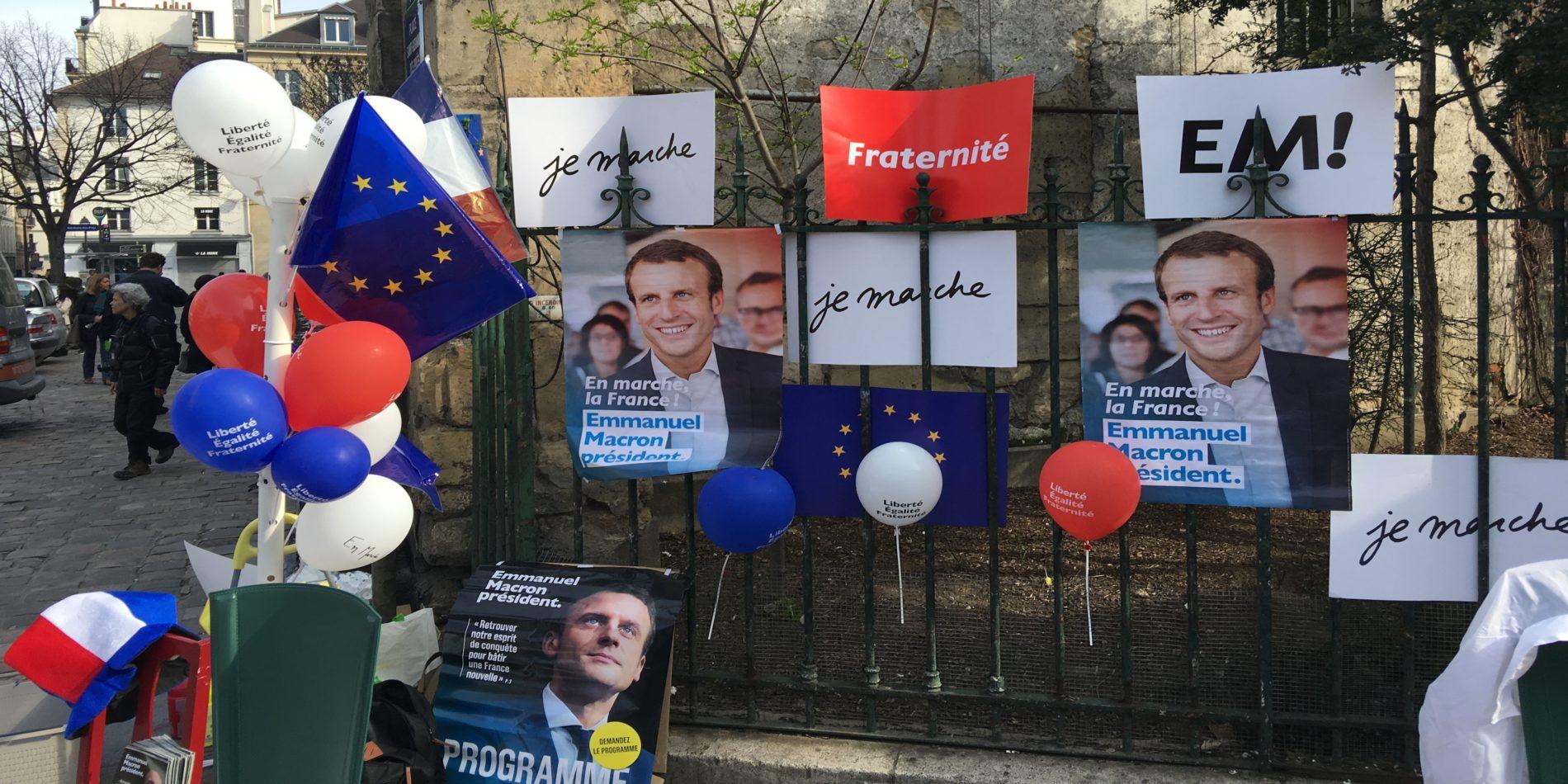 Emmanuel Macron kandydat program