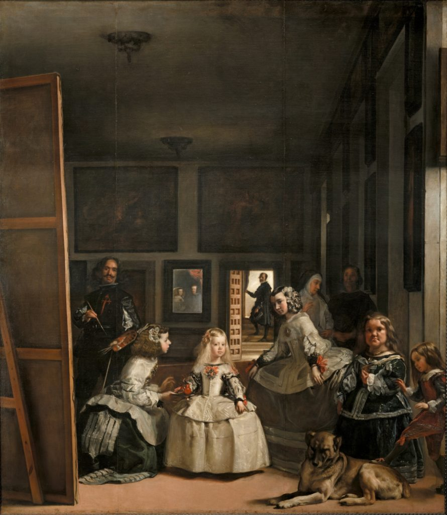 Las Meninas czyli Velazquez'a Panny Dworskie