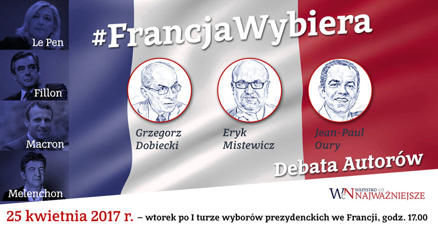Francja wybiera wybory prezydenckie we Francji opinie