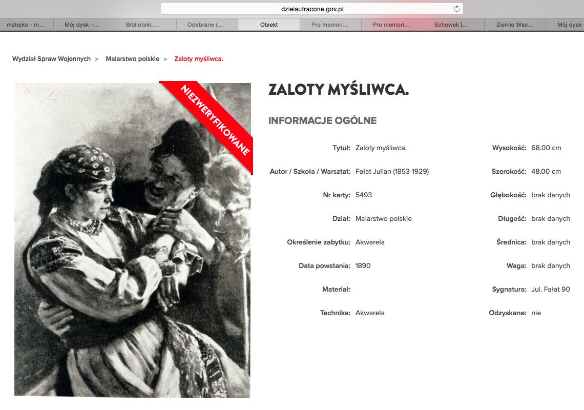Magdalena Ogórek książka ozrabowanych działech sztuki przezNiemców