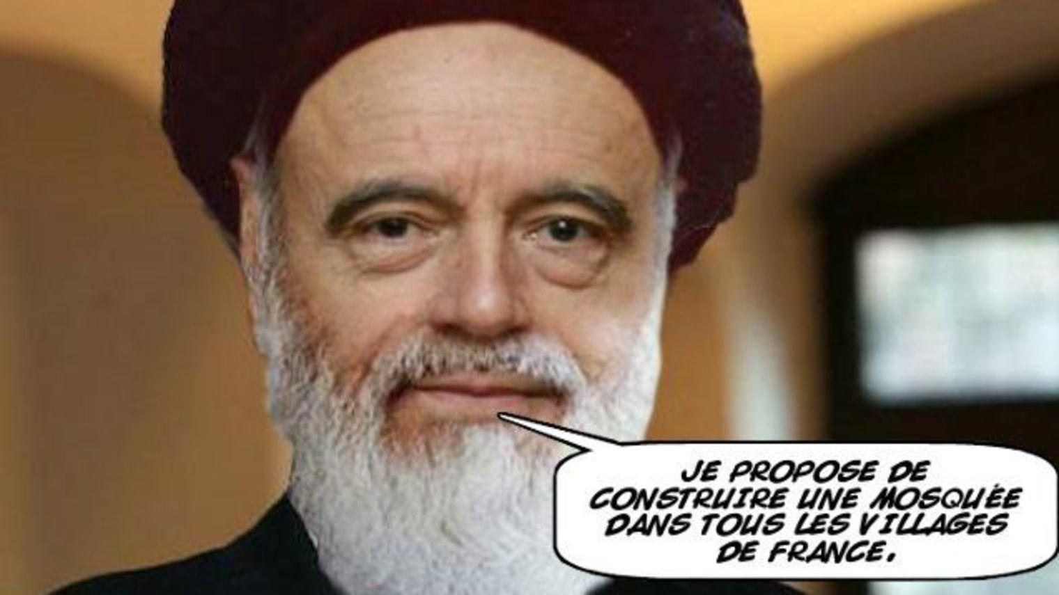 """Internetowetrolle wywodzące się zportali odwołujących się dowartości patriotycznych iskrajnie prawicowych przyczynili się doporażki Alaina Juppé wprawyborach naprawicy iwcentrum. Rozpowszechniali wsieci powyższego mema zmerem Bordeaux, wypowiadającego słowa """"Proponuję wybudować meczet wkażdym francuskim miasteczku""""."""