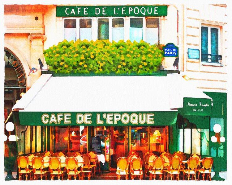 Julia MISTEWICZ: Miesiąc w Paryżu. Dziesięć pomysłów. Sierpień 2021