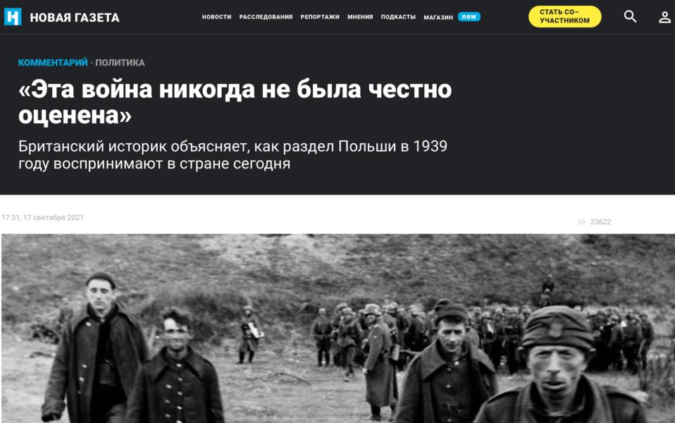 Teksty przybliżające historię Polski w największych mediach na świecie, m.in. w Rosji, Francji i Palestynie